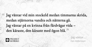 Jag väntar.... av Dan Andersson