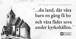 Dikt: Sverige av Verner von Heidenstam