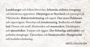 Svenska allmogens frihetsstrider 2