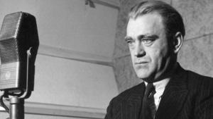Vilhelm Moberg år 1937, fotograf Bertil Danielsson, SVT Bild