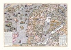 Carta Marina karta Norden