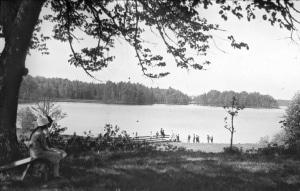 Sjön Möckeln i Stensbrohult