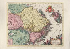 Karta Uppland Södermanland Västmanland