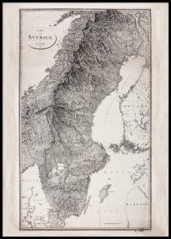 Sverigekarta 1811