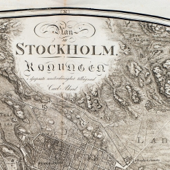 Gammal Stockholmskarta