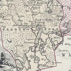 Karta Gästrikland