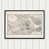 Karta Stockholm 1817