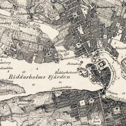 Karta Stockholms innerstad