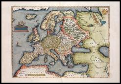 Europa antik karta
