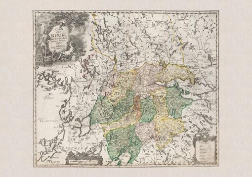 Karta Närke