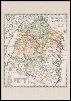 Karta Östergötland