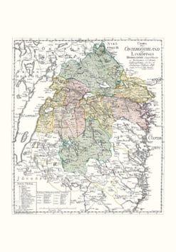 Östergötland karta