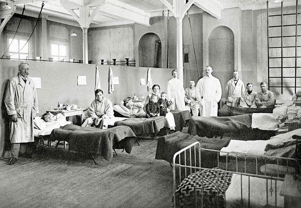 Spanska sjukan i Sverige