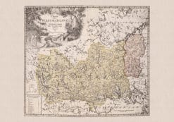 Karta Västmanland