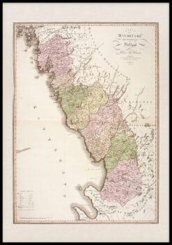Karta Halland