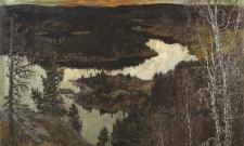 Höstafton, Nordingrå, Ångermanland
